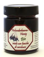 BIO- miele con bacche di sambuco locale