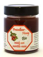 BIO- miele con mirtillo rosso locale