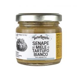 Senape al miele e tartufo bianco 100g TartufLanghe Piemonte